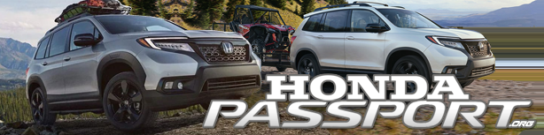 Honda Passport Forum